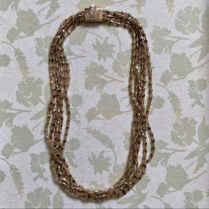 "NWOT Multi-Strand LOFT 17"" Necklace"